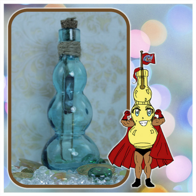 message in a bottle gift