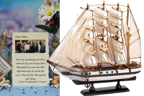 Custom message and unique gift Ship