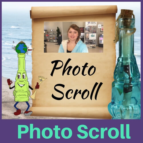 Photo Personalized Message in a Bottle