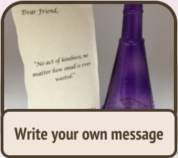 write your own message