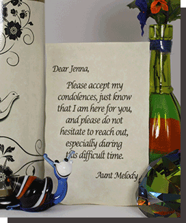 Custom Message in a bottle and Gifts